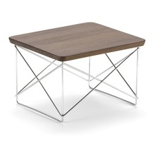 product-Vitra Mesa auxiliar Occasional LTR - Estructura cromada - Charles & Ray Eames, 1950