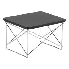 product-Vitra LTR Side Table - Chrome-pleated base - Charles & Ray Eames, 1950