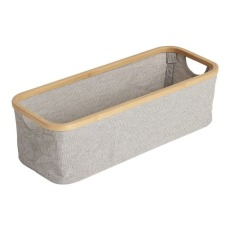 product-Quax Changing Table Bamboo and Cotton Storage Basket
