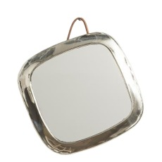 product-Cosydar Rounded Square Nickel Silver Mirror
