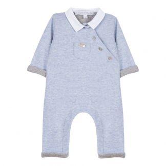 5c773ce69 Dungaree Marled blue Tartine et Chocolat Fashion Baby