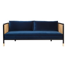 product-Red Edition Cannage 3 Seat Sofa - Velvet