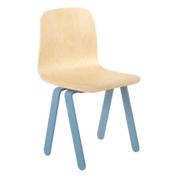 Chaise Enfant Bleu In2wood Design Enfant