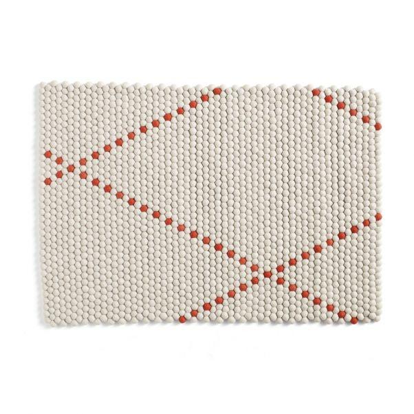 Dot 180x80cm Woolen Rug Colour N 1 240x170cm Woolen Rug