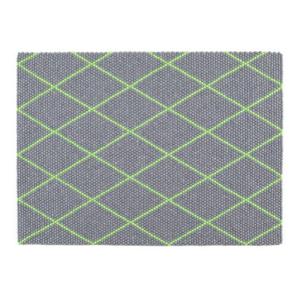 Teppich Dot Aus Wolle 200x150 Cm Scholten Baijing Grun Hay