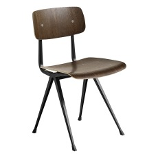 product-Hay Result Smoked Oak Chair - Result Tinted Oak Chair - Friso Kramer & Wim Rietveld Re-edition