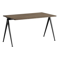 product-Hay Pyramid 01 149x65cm Oiled Oak, Steel Legs Table - Friso Kramer & Win Rietveld Re-edition