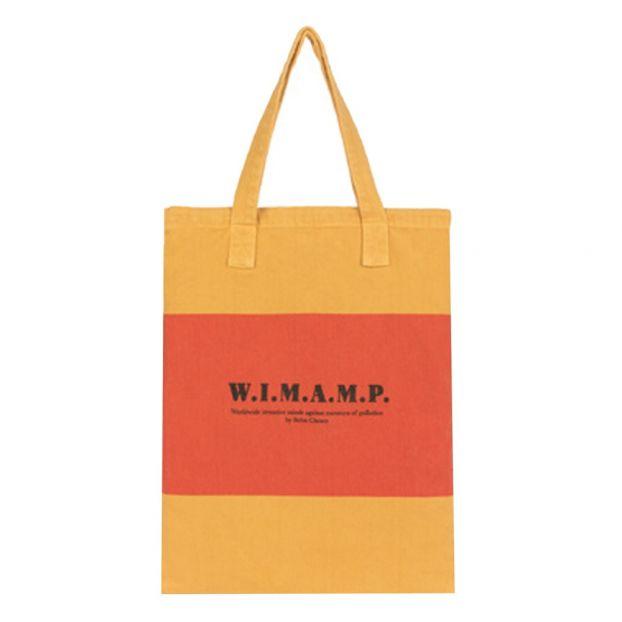 83b6d910319c W.I.M.A.M.P Tote Bag Orange Bobo Choses Fashion Children