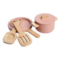 product-Flexa Play Cacerola y sartén de madera - Set de 4