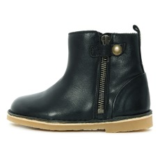 product-Young Soles Winston Leather  Linen Boots