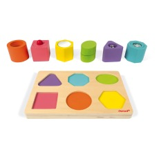 product-Janod Sensory Wooden Cubes - Set of 6