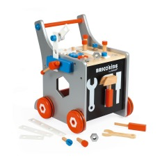 product-Janod Brico Kids Wooden Magnetic Chariot with 21 Acessories