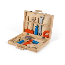 product-Janod Brico Kids Toolbox - 9 Pieces