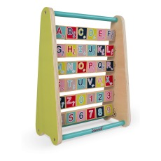 product-Janod Baby Forest Wooden Alphabet Abacus