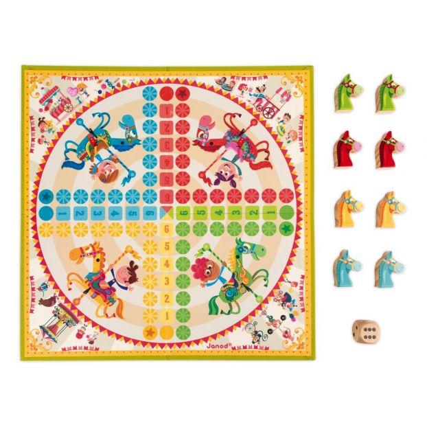 Carte Europe Janod.Jeu De Petits Chevaux Carrousel Janod Jouet Et Loisir Enfant