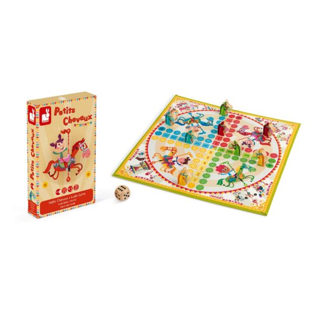 Ludo Horses Game Janod Toys and Hobbies Children