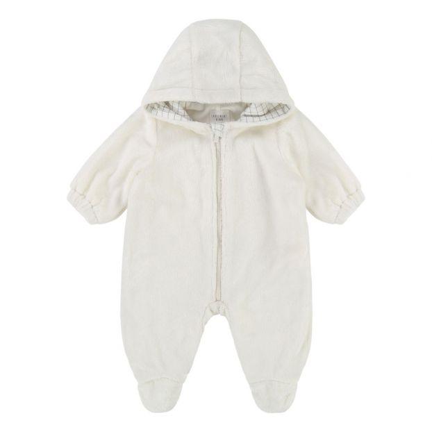 70c46cf55 Faux Fur Lined Snowsuit Ecru CARREMENT BEAU Fashion Baby