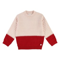product-CARREMENT BEAU Two-tone Jumper