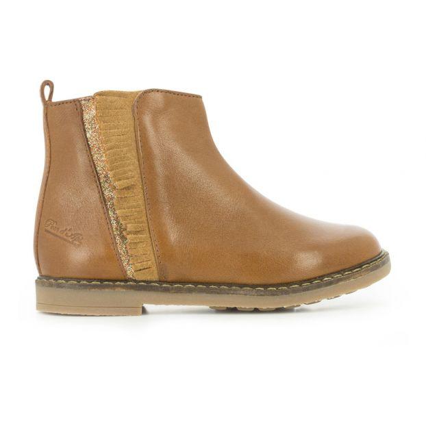 3d092ef66d7fe Boots Trip Fringe Caramel Pom d Api Chaussure Adolescent
