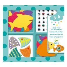 product-Djeco I Love Fishes Stickers