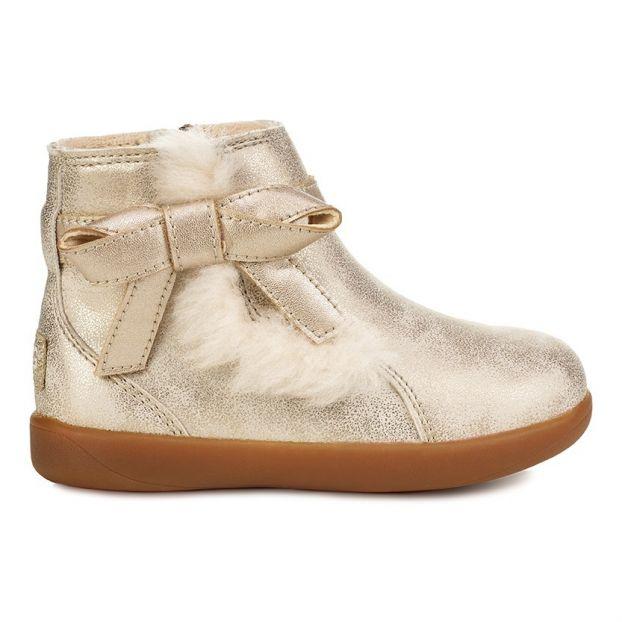 3de98ac5172ce Boots Noeud Libbie Doré Ugg Chaussure Bébé