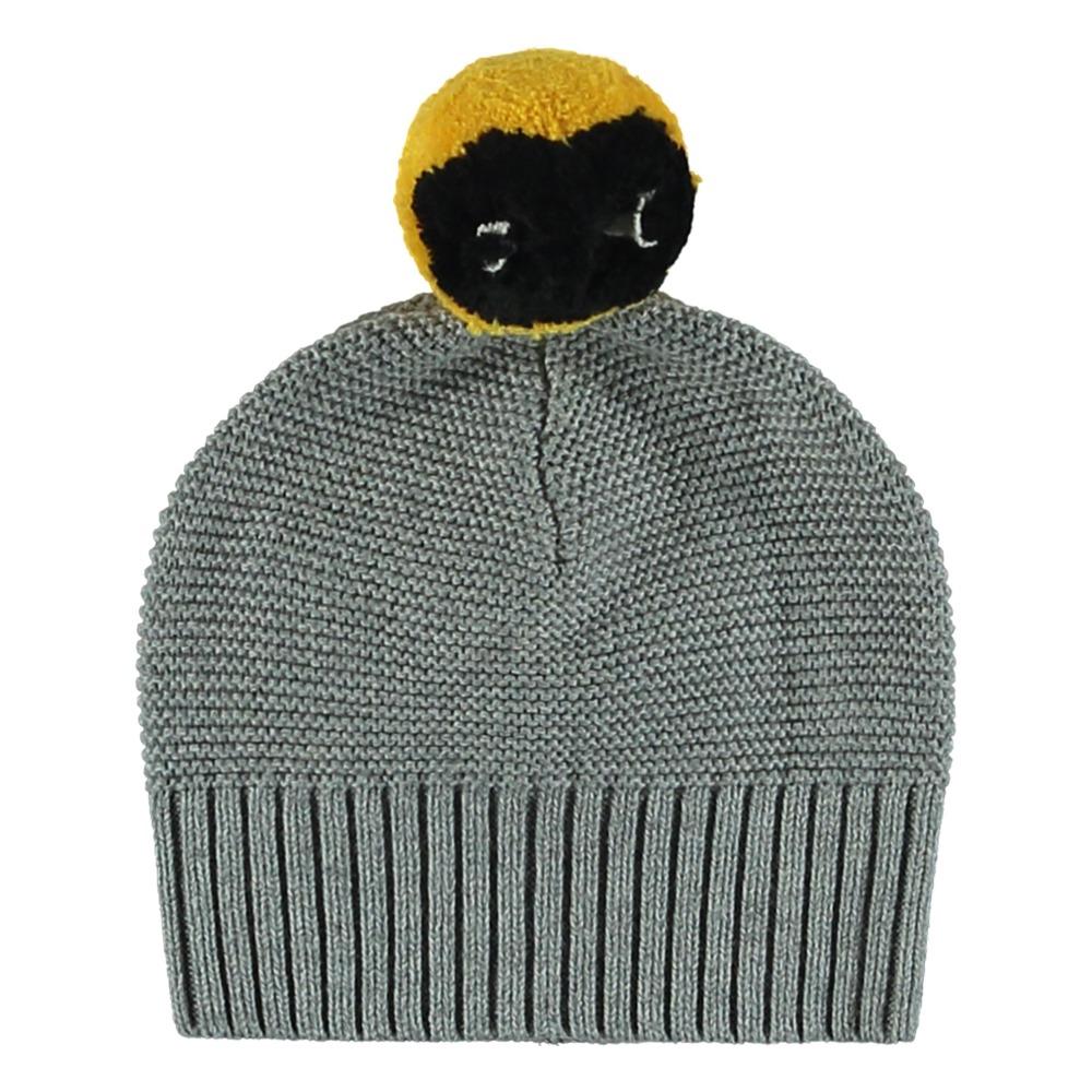 f4d8328590a Ferret Organic Cotton and Merino Wool Hat Grey Stella McCartney. «