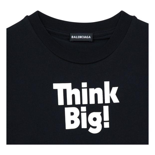 44260f6c2 Think Big T-Shirt Black Balenciaga Fashion Children