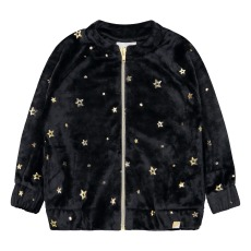 product-Blune Kids Veste Velours Etoiles Make A Wish