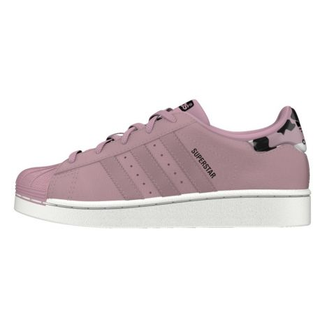 more photos 3de11 12655 ... purchase adidas. superstar camouflage lace up trainers dusty pink d19ed  b3c55