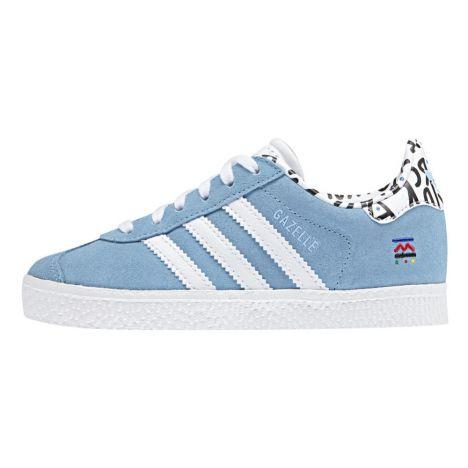 Adidas. Gazelle Print Suede ...