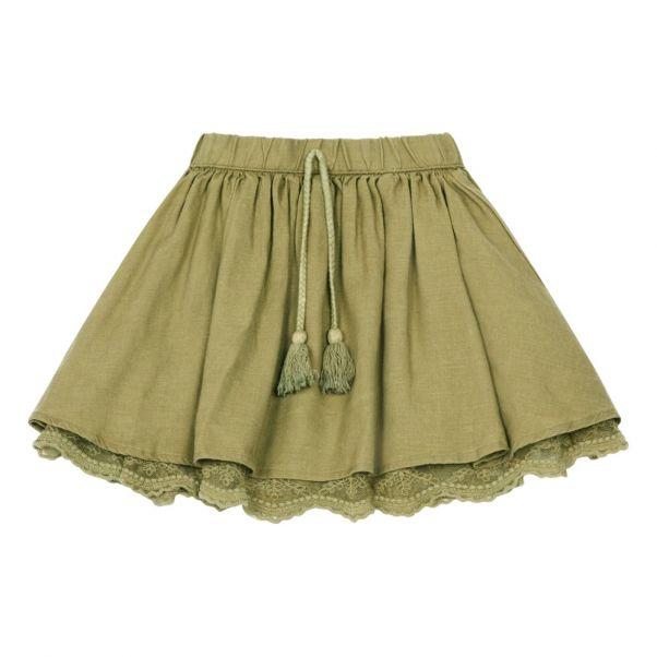 f600de8143a9f Jupe Dentelle Vert olive Rylee + Cru Mode Enfant