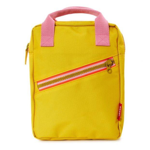 Pequeña De Amarillo Plástico Mochila Reciclado vm0Nnw8
