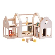 product-Plan Toys Modular 3 blocks Wooden House