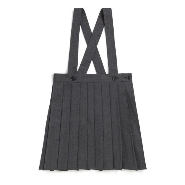 b8a6bcb4d609 Favorite Woolen Skirt Heather grey Bonpoint Fashion Children