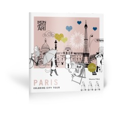 product-Mon Petit Art Livre de coloriage City Tour Paris et stickers