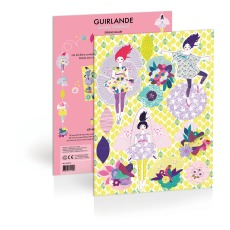 product-Mon Petit Art Kit Guirlande Ballet de printemps