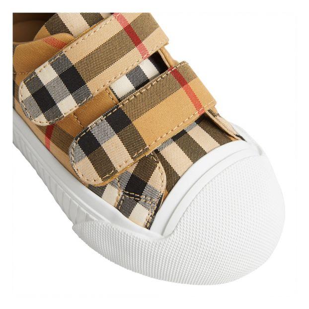 6968555b7 Baskets Scratchs Belside Blanc Burberry Chaussure Enfant