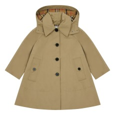 product-Burberry Bethel Trench Coat with Removable Hoodie