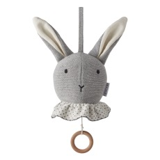 product-Liewood Mobile musical Angela lapin en coton bio