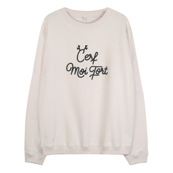 Mode Ecru Et Collection Sweat Ida Femme Cerf Moi Fort Emile wxqXzP