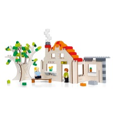 product-Brikkon WoodenHouse Construction Set