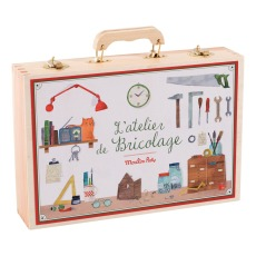 product-Moulin Roty Toolbox - 14 Pieces