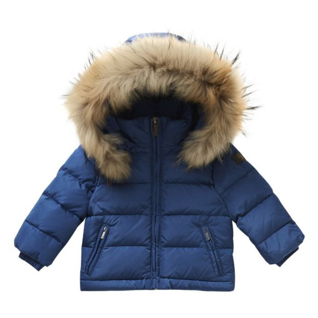ad1620613 Down Jacket Blue Il Gufo Fashion Children