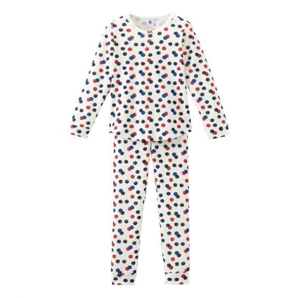 700457d97c5d9c Pyjama Tournesol Rouge Petit Bateau Mode Enfant