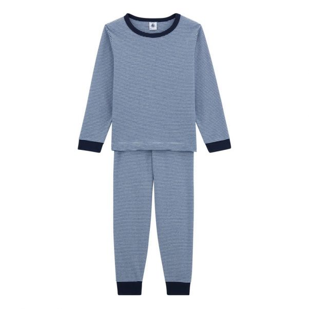 ab6ba8767281b Pyjama Togo Bleu marine Petit Bateau Mode Enfant
