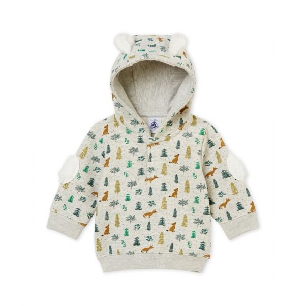 eb44b110dd6d0 Taux Sweatshirt Light grey Petit Bateau Fashion Baby