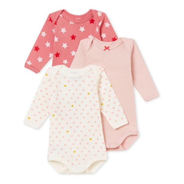 1f774bb9d10e Lot of 3 Heroes Bodies Candy pink Petit Bateau Fashion Baby