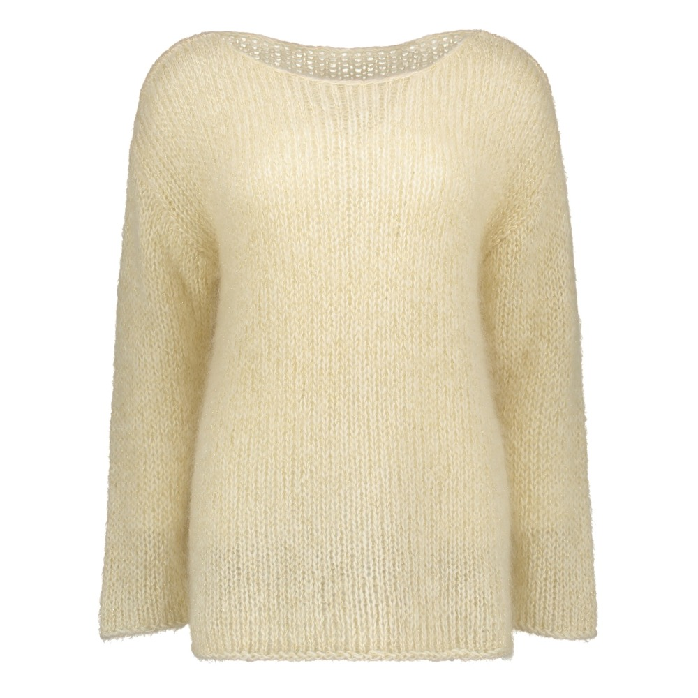 Louis Louise - Pull Astro Mohair - Collection Femme - Ecru