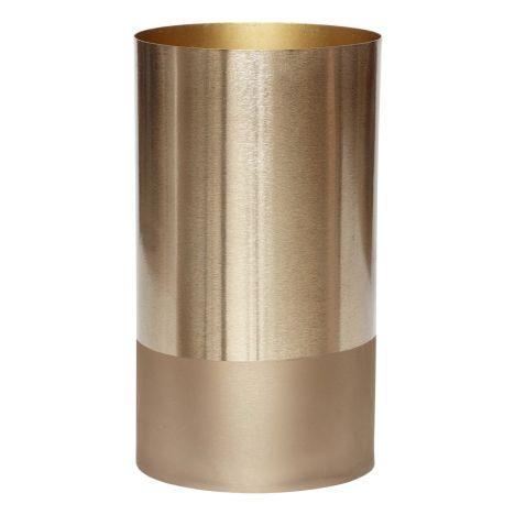 Metallic Vase Gold Hbsch Design Adult
