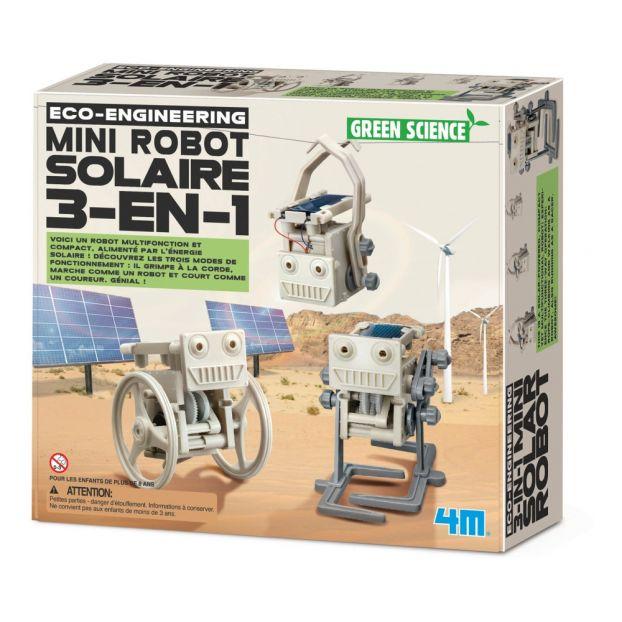 À Fabriquer 3 1 Solaire Robot En Mini CoedBx